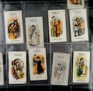 Women on War Work Cigarette Cards by Carreras Issued 1916 Pick Your Card