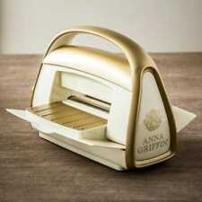 New Cricut Cuttlebug Die Cutting Embossing Gold and Ivory Machine Anna Griffin