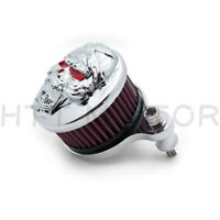Zombie Air Cleaner Intake Filter For Harley Sportster XL883 XL1200 88-15 Skull
