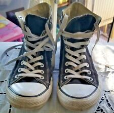 CONVERSE Chuck Taylor All Star Shoes High Top BLACK Size Mens 8/Womens 10