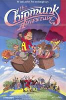 The Chipmunk Adventure Movie POSTER 11 x 17  Ross Bagdasarian Jr, A