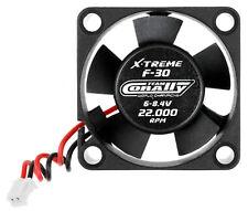 Team Corally C-53101 ESC Ultra Haute Vitesse Cooling Fan 30mm 6v-8,4V