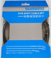 Shimano PTFE Coated Mountain Bike MTB Shift Cable & Housing Kit Black