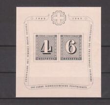 Schweiz 1943, Mi-Nr. Block 8, postfrisch, Michel 120€
