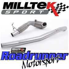 "Audi tts MK3 2.0 tfsi quattro milltek exhaust 3"" cast downpipe course sports cat"