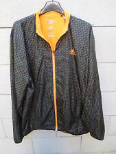 Veste ADIDAS ADIZERO Climacool Formotion tennis jacket noir orange L