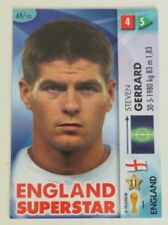 Panini England Not Autographed Football Trading Cards