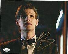 Doctor Who MATT SMITH Signed 8x10  JSA L09587