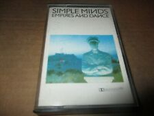 1982 Issue SIMPLE MINDS Empires And Dance UK Cassette Virgin TCV 2247 NM