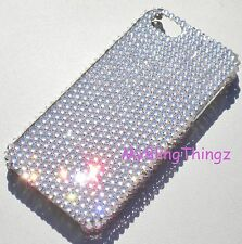 CLEAR Rhinestone Bling Back Case for iPhone 5SE 5 5S made w/ Swarovski Crystals