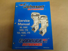 for johnson repair manuals literature ebay rh ebay com 2005 Evinrude 90 HP 1996 Evinrude 90 HP