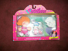 Rare Fisher Price Smooshees Beth & Her Bicycle Nib