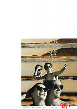 PUBLICITE ADVERTISING  1989   RAY BAN  lunettes