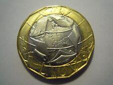 Moneta LIRE 1000 BIMETAL 1997 Italy - Versione confini errati Germania (5)