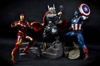 Kotobukiya Avengers Reborn Statue Thor Ironman Captain America