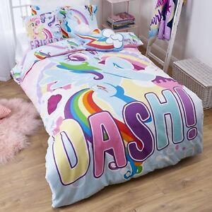 My Little Pony MLP - Dash - Single/US Twin Bed Quilt Doona Duvet Cover Set