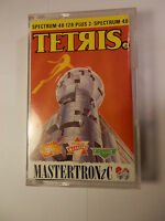 RARE GAME -- TETRIS -- SPECTRUM 48 / 128 + 2 -- BY MASTERTRONIC -- 1989