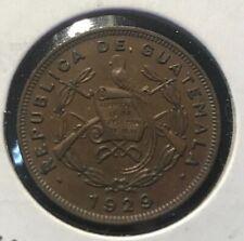 ** GUATEMALA 1929 (P) CENTAVO ...YR.TYPE, LOW MINTED 500K. **