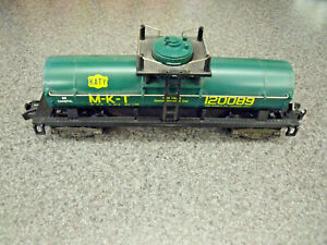American Flyer / Lionel  M-K-T  NASG 1989 Convention Tank Car Hard To Find