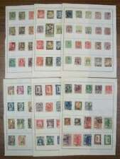 A9762: Early Thailand Stamp Collection; CV $200+