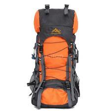 55L Outdoor Camp Trekking Hiking Bag Military Tactical Rucksacks Backpack T4K6