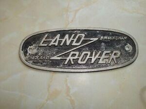 Land Rover - Nameplate/Badge - Birmingham