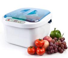 Dental12.8L Ultrasonic Cleaner Vegetable Fruit Sterilizer Jewelry Denture Washer