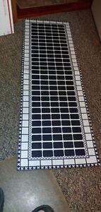 """Runner Rug &  Floor Mat 17"""" × 48"""" 17"""" × 24""""  Laundry room or kitchen rugs!"""
