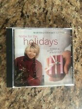 Martha Stewart Living Home For The Holidays CD
