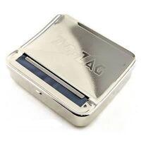 2 X Zig Zag Lata Automático Cigarrillo Tobaco Rolling Caja Máquina Zigzag Roller