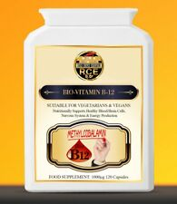 Bio-Vitamin B12 Methylcobalamin Nutritionally Supports Healthy Blood/Brain Cells