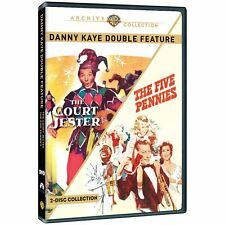 DANNY KAYE: THE COURT JESTER / FIVE PENNIES -  Region Free DVD - Sealed