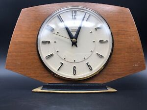 Vintage Classic METAMEC Mantle Clock Art Deco German Quartz Kienzle Movement