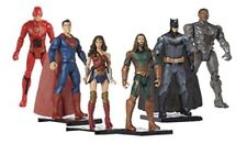 "Dc Comic 6""action figures Set Of 6 Build The Justice League Base"