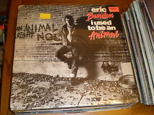 Eric Burdon LP I Used To Be An Animal SEALED