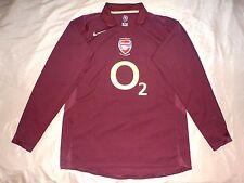 RARE mint Arsenal  2005/06 HIGHBURY NIKE L HOME shirt jersey FAREWELL long