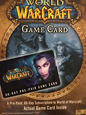 Wow game time World of Warcraft 60 Day Pre-Paid Card - PC/Mac