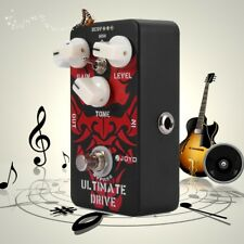 JOYO JF-02 Ultimate Drive Overdrive Electric Guitar Effect Pedal Black Red3Knobs