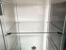 Supports pour etagère supplementaire vitrine IKEA Detolf
