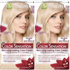 2 Garnier Color Sensation Color Cream 11.0 EXTRA LIGHT NATURAL BLONDE