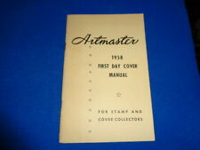 ARTMASTER 1958 FIRST DAY COVER MANUAL