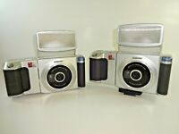 (2) Sony DKC-C200X Commercial Digital Passport Photo Camera AS IS PARTS REPAIR