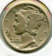 1942/1 Silver Mercury Dime - Philadelphia Mint - BG303