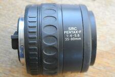SMC Pentax F 35-80mm 1:4-5.6 Zoom Lens