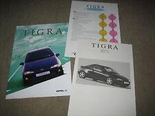 Opel Tigra Falt Prospekt Brochure von 9/1994, 16 Seiten + Preisliste