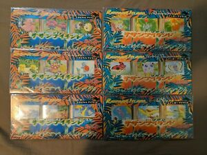 Pokemon Southern Islands Rainbow & Tropical 1998 Complete Set of 18 Japanese