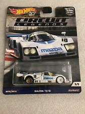 + Hot Wheels 1:64 Circuit Legends Real Riders Mazda 787B New On Card B96