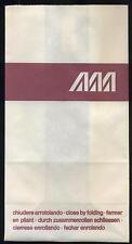 Alitalia ATI Aermediterranea airsickness barf disposal bag spucktüte mint box001