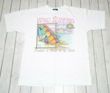 American Eagle Wind Surfing Graphic T Shirt Size Xl Vintage