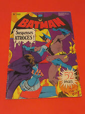 1980 BATMAN #100  FRENCH EUROPE VARIANT FREE SHIPPING 52 PAGER SUSPENSES !
